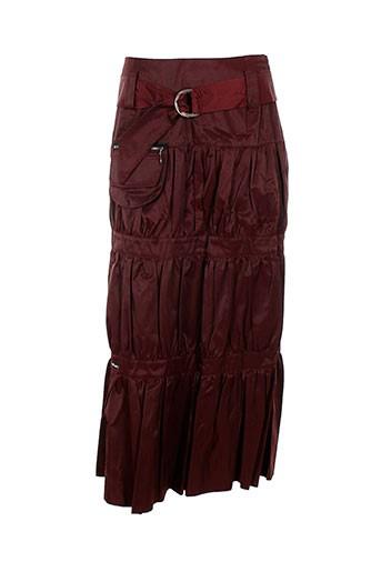 des filles a la vanille jupes femme de couleur rouge ebf9a0c2b85
