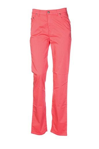 impact pantalons femme de couleur orange