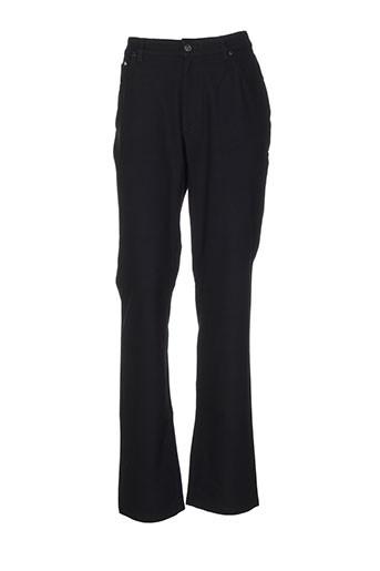 cerruti 1881 pantalons femme de couleur noir