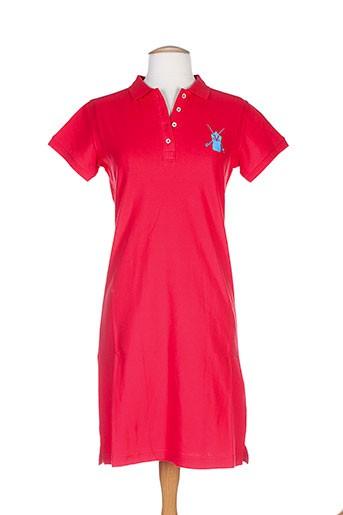 vestiaires et principaute et cannoise robes et mi et longues femme de couleur rouge