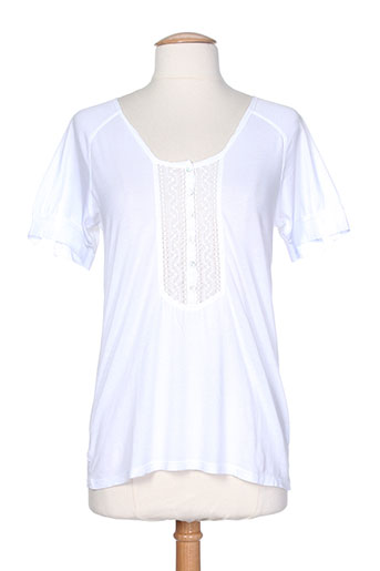 bella jones t-shirts / tops femme de couleur blanc