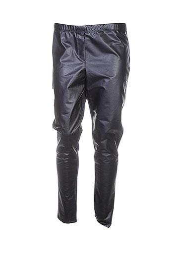 alain murati pantalons femme de couleur noir