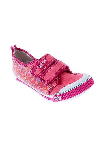 super gear chaussures fille de couleur rose