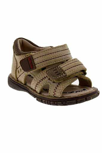 d.d.step chaussures garçon de couleur beige