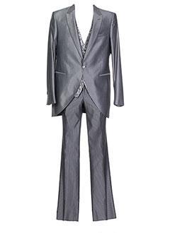 Costume de cérémonie gris PAL ZILERI pour homme