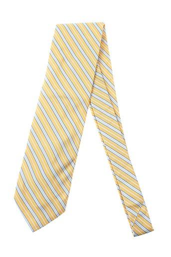 pal et zileri cravates homme de couleur jaune