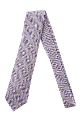 pal et zileri cravates homme de couleur violet