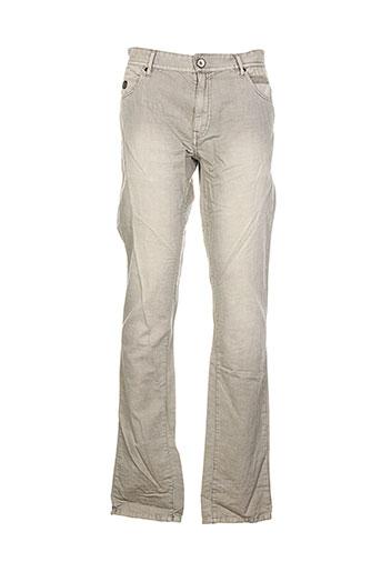 r95th pantalons homme de couleur gris