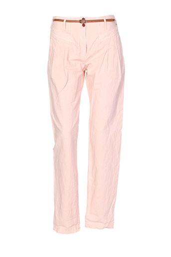 sessun pantalons femme de couleur rose