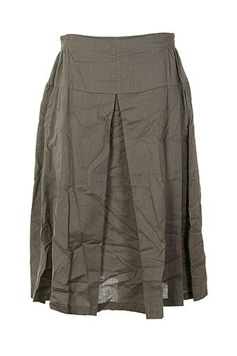 bella blue jupes femme de couleur gris