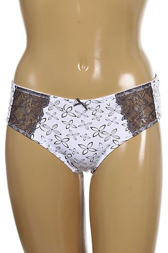 manais slips et culottes femme de couleur gris