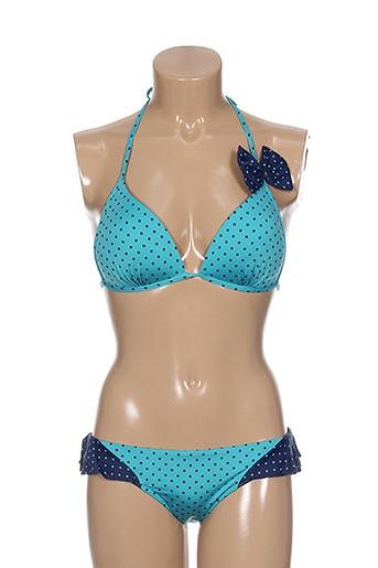 princess k maillots de bain femme de couleur bleu