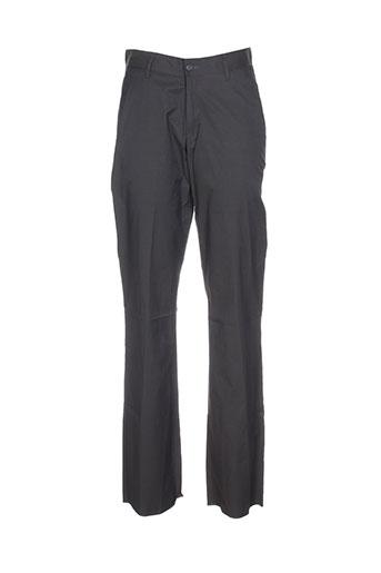 olivier strelli pantalons homme de couleur marron