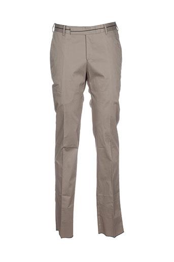 z zegna pantalons homme de couleur beige