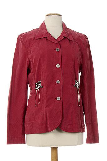 quattro vestes femme de couleur rouge