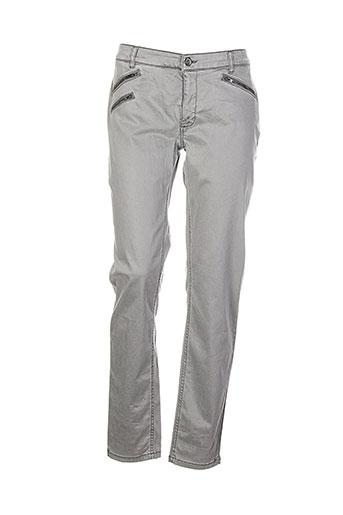 joseph et ribkoff pantalons et decontractes femme de couleur gris