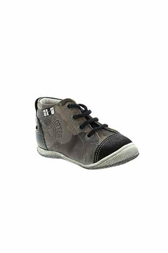 gbb chaussures garçon de couleur noir