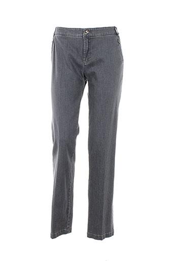 mariella et rosati pantalons et decontractes femme de couleur gris