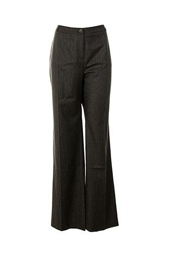atika pantalons femme de couleur gris