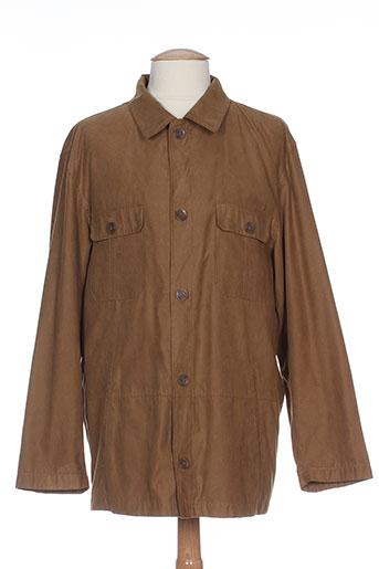 bush vestes homme de couleur marron