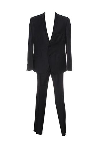 kamao pantalon et veste homme de couleur noir