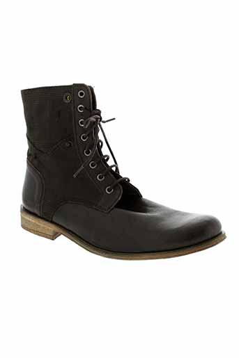 charlelie chaussures homme de couleur marron