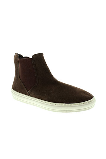 natural et world boots femme de couleur marron