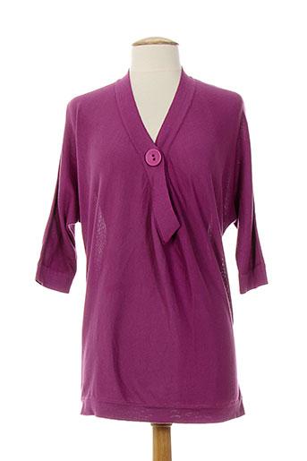 atika pulls femme de couleur violet