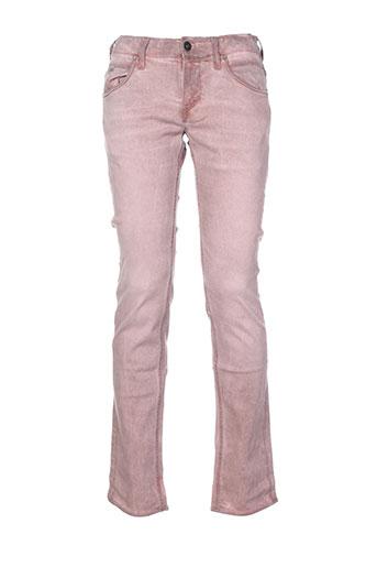 meltin'pot jeans homme de couleur rose