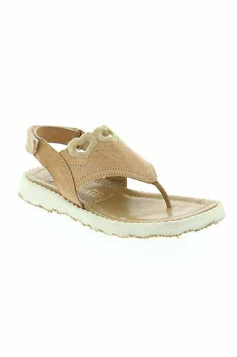 stones et and et bones sandales et nu et pieds fille de couleur beige