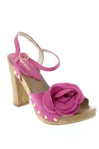 ilario et ferucci sandales et nu et pieds femme de couleur rose