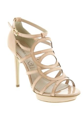 ilario et ferucci sandales et nu et pieds femme de couleur beige