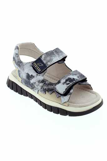 naturino sandales et nu et pieds fille de couleur bleu