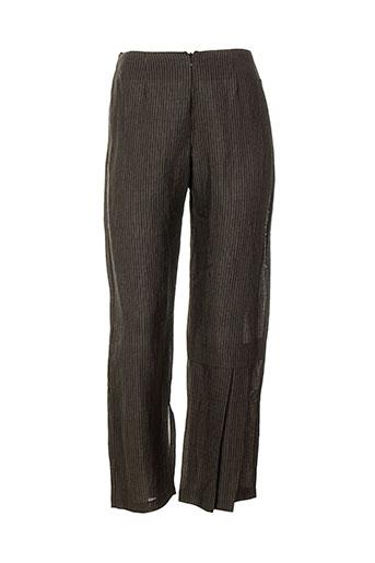 Pantalon chic gris BELLOCOTON pour femme