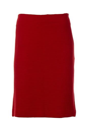 elemente clemente jupes femme de couleur rouge