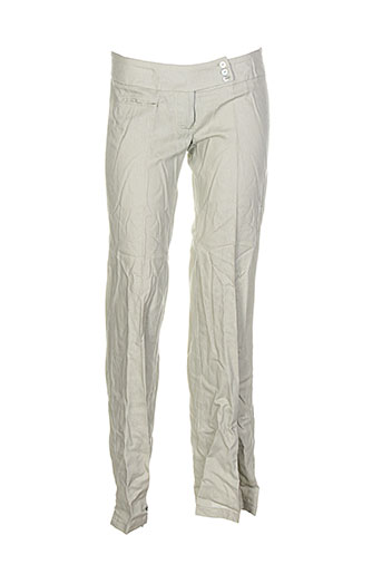 Pantalon chic vert DRAGON S pour femme
