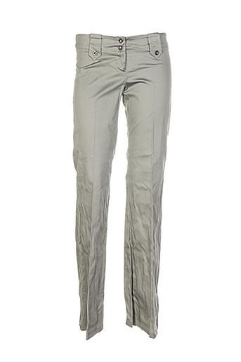 Pantalon casual vert DRAGON S pour femme
