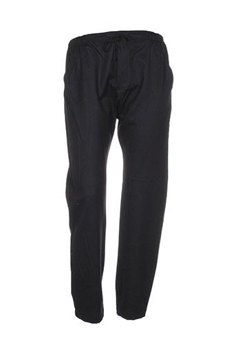 masscob pantalons femme de couleur noir