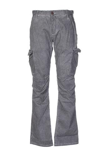 rockstar pantalons homme de couleur gris