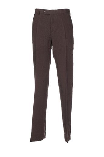 gentleman farmer pantalons homme de couleur marron