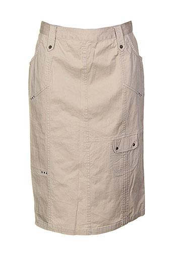 les marins de jac jac jupes femme de couleur beige