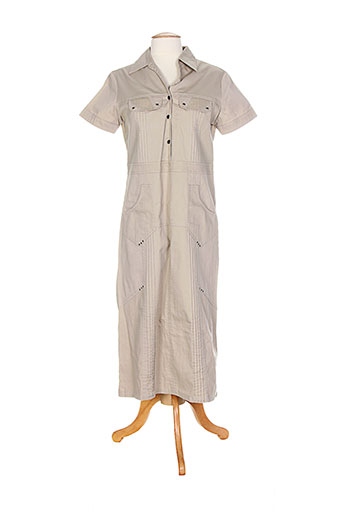 les marins de jac jac robes femme de couleur beige