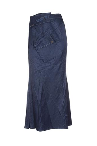 des filles a la vanille jupes femme de couleur bleu