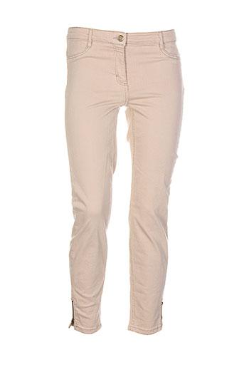 betty et barclay pantalons et decontractes femme de couleur beige