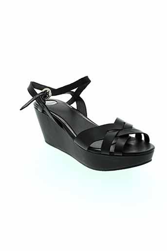 i's london chaussures femme de couleur noir