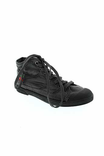 cerise little chaussures fille de couleur gris