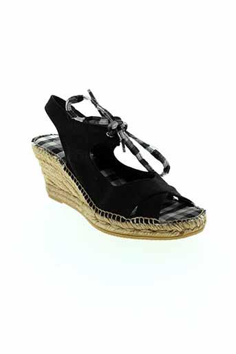 toni et pons sandales et nu et pieds femme de couleur noir