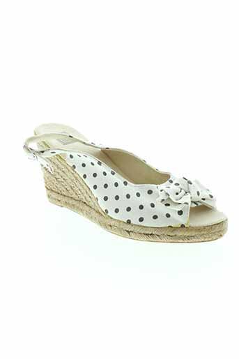 colors of california chaussures femme de couleur blanc