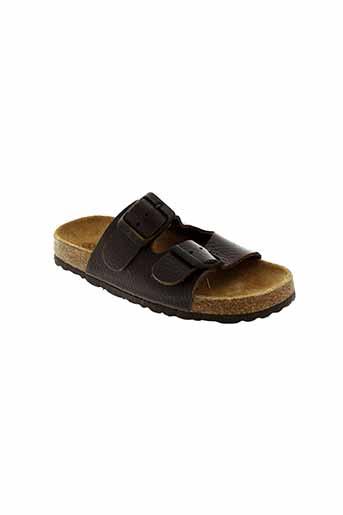 emma chaussures fille de couleur marron