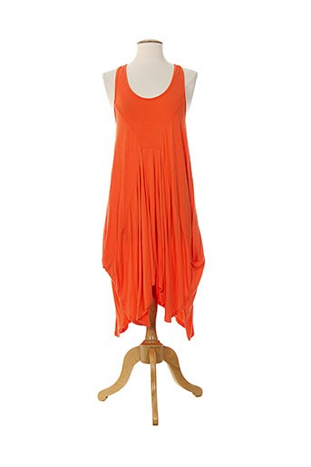 seafolly robes femme de couleur orange